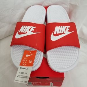 Nike Benassi JDI basketball slides Mens 10